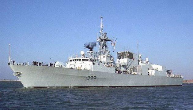 Канадский фрегат был приведен в полную боеготовность из-за действий кораблей РФ - СМИ