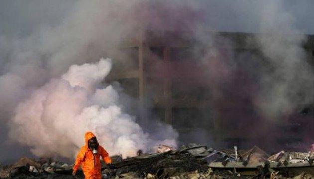 В Китае произошел взрыв на химзаводе