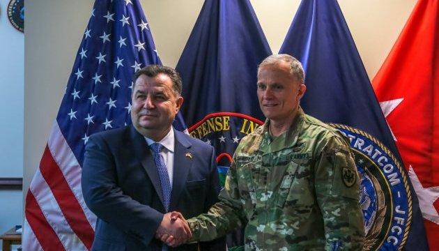 Полторак обсудил сотрудничество с руководителем разведчиков Пентагона