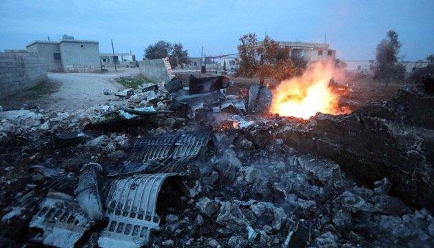 Берлін, Париж і Лондон засудили авіаудари сил Асада і Росії по Ідлібу