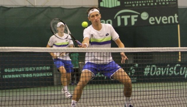 Стаховский сравнял счет в теннисном матче Кубка Дэвиса Украина - Швеция