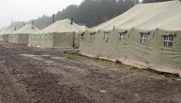 Полевой лагерь на Гончаровском полигоне готов к приему подразделений для учений