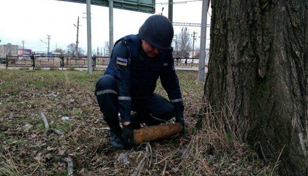 В Одессе выкопали два снаряда времен Второй мировой войны
