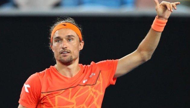 Теніс: Долгополов зберігає позицію в оновленому рейтингу ATP