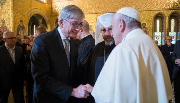 Чолій привітав Папу Франциска від української діаспори