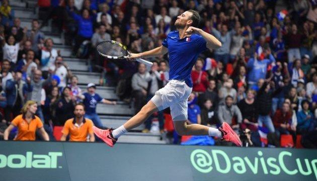 Теннис: определились четвертьфинальные пары Мировой группы Кубка Дэвиса