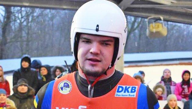 Украинский саночник Антон Дукач: Ожидаю быстрой олимпийской трассы