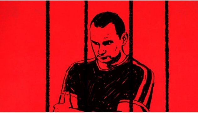 Petition demanding to release Sentsov submitted to Russian Embassy in Paris