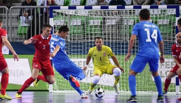Футзал: Казахстан обыграл Сербию и вышел в 1/2 финала Евро-2018