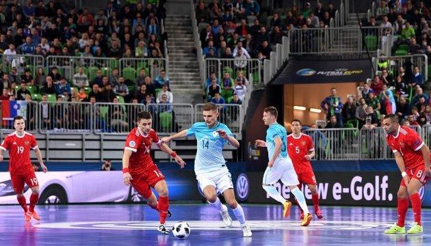 Визначився другий півфіналіст чемпіонату Європи з футзалу