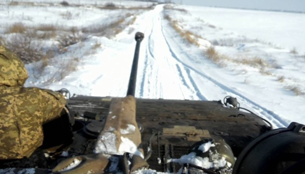 One Ukrainian soldier wounded in Donbas over past day