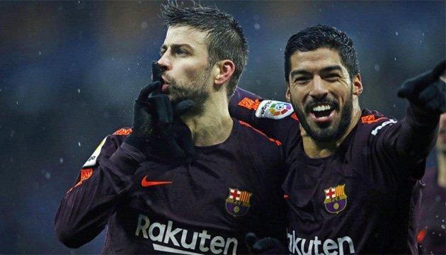 Футбол: Пике не накажут за жест болельщикам