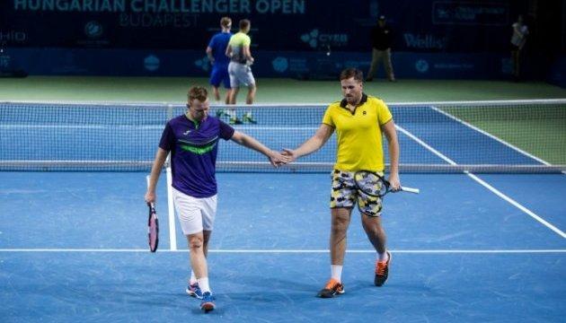 Теннис: украинец Ужиловский прошел во 2 круг парной сетки турнира в Будапеште