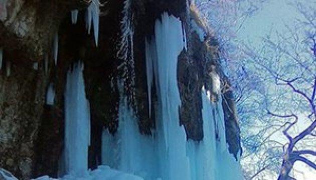 На Тернопільщині замерзли