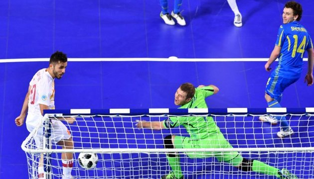 Евро-2018 по футзалу: Украина уступила Испании в четвертьфинале