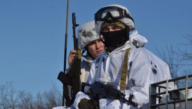 統一部隊作戦圏:1月9日のロシア占領軍の攻撃2回、ウクライナ側人員損耗なし