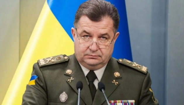Poltorak discusses with leadership of Finland issue of peacekeeping mission in Donbas