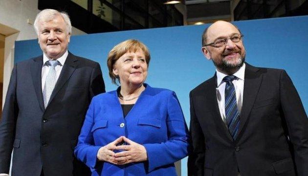 Велика коаліція в Німеччині: ЗМІ вже