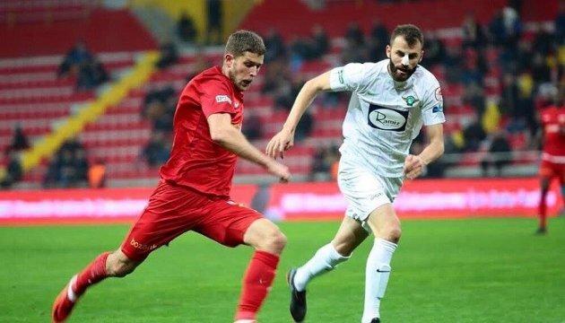 Артем Кравець забив дебютний м'яч за «Кайсеріспор»