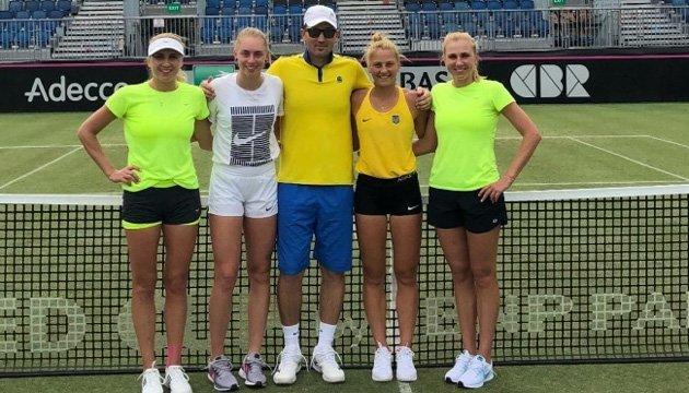 Теніс: Костюк, Лопатецька і сестри Кіченок готуються до Кубка Федерації