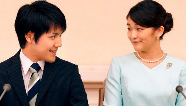 Японська принцеса Мако відклала своє весілля