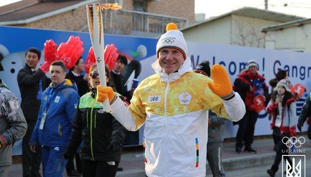 Сергей Бубка: Каждый раз с гордостью несу олимпийский огонь