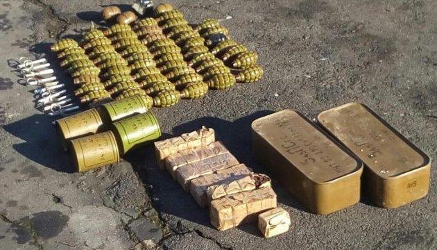 «Фантом» виявив схованку боєприпасів у зоні проведення АТО
