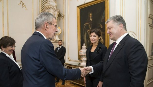 Trade turnover between Ukraine and Austria grows by 17% - Poroshenko