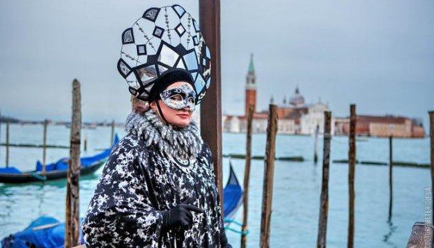 Вбрання українки вразило Венеціанський карнавал