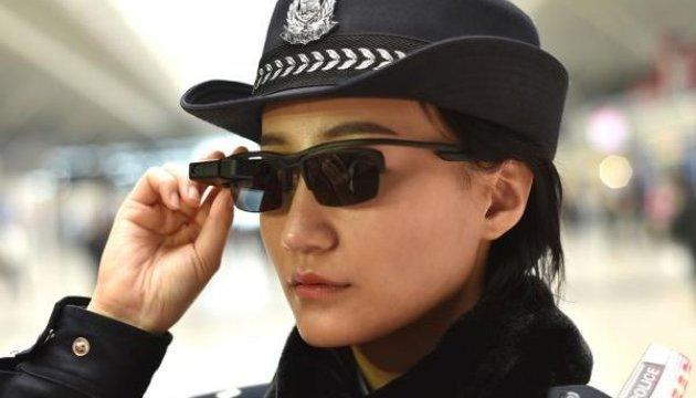 У Китаї поліцейським видадуть спецокуляри для ідентифікації особи