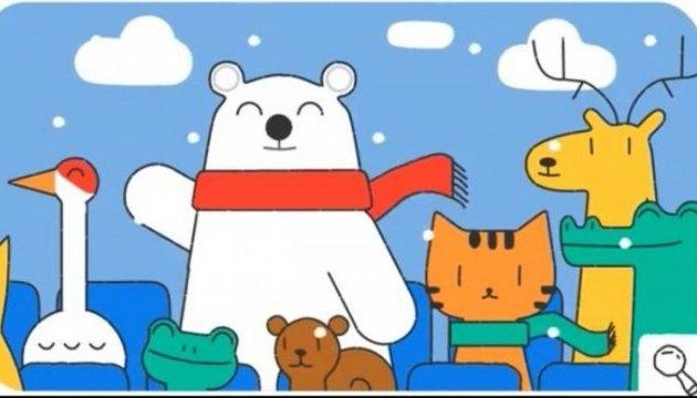 Google присвятив doodle відкриттю зимової Олімпіади