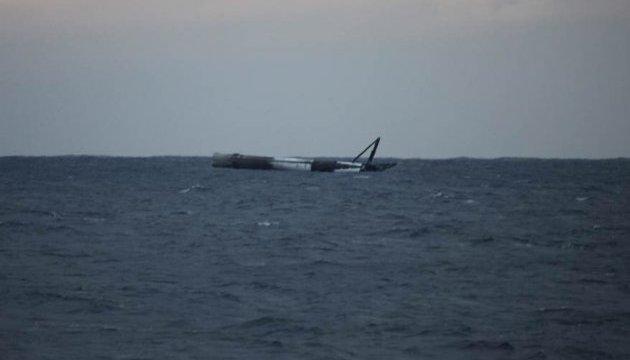 Авиация США разбомбила ракету Falcon 9, дрейфовавшую в океане