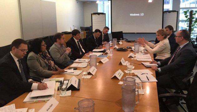 Гриневич говорит, что договорилась со Всемирным банком об экспертной помощи