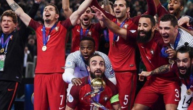 Португалія вперше стала чемпіоном Європи з футзалу