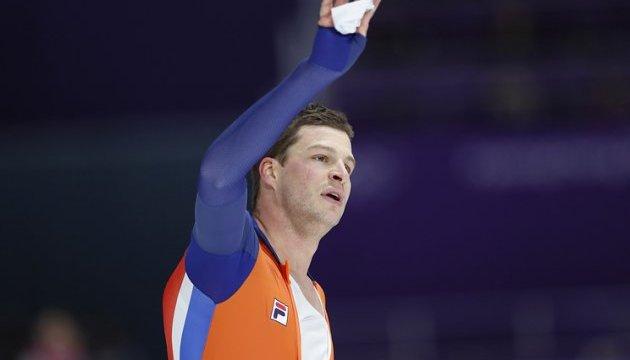 Голландский конькобежец Крамер выиграл Олимпиаду на дистанции 5000 метров