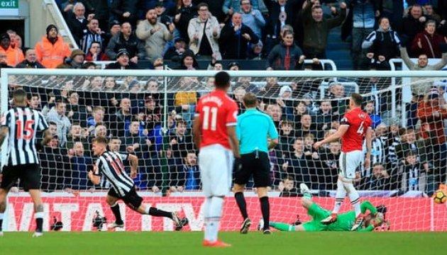 АПЛ: «Манчестер Юнайтед» сенсаційно програв «Ньюкаслу»