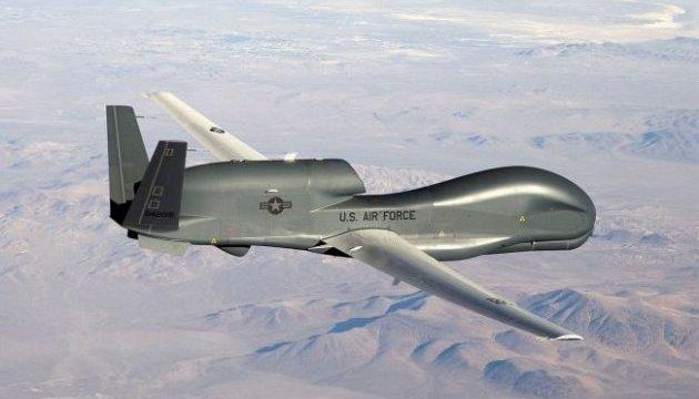 Американский дрон совершил разведывательный полет над Донбассом и Крымом