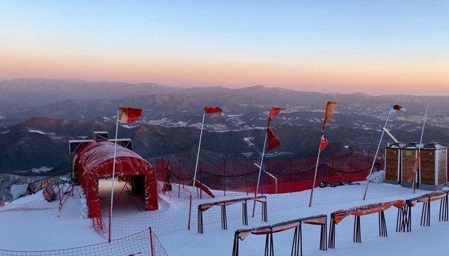 Из-за ветра снова отложили соревнования горнолыжников