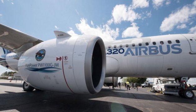 Airbus обнаружил дефекты двигателей в самолетах нового типа