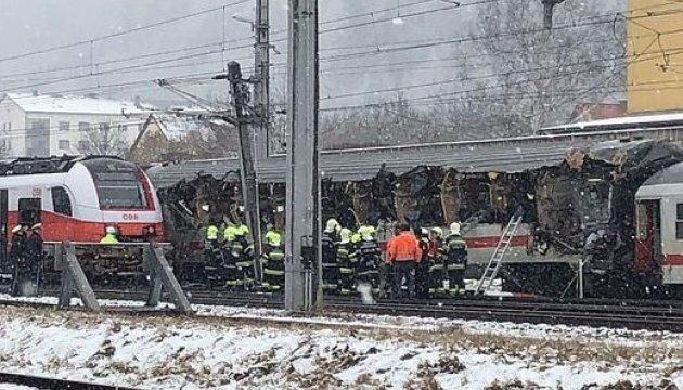 В Австрии столкнулись два поезда, есть жертвы