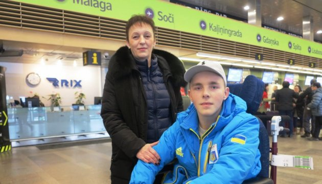 17-year-old Ukrainian luger injured in Latvia leaves for rehabilitation in Lviv