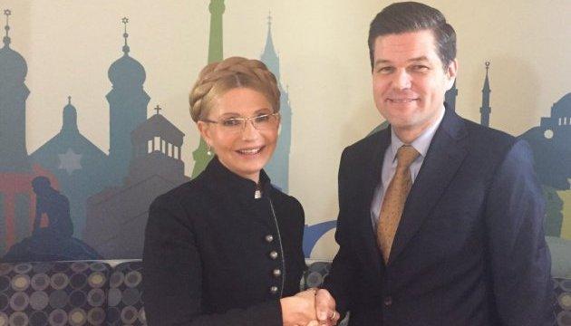 Тимошенко в США обсудила противодействие коррупции и поиск мира на Донбассе