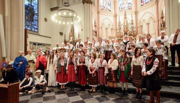 Christmas concert Velyka Kolyada held in The Hague. Photos, video