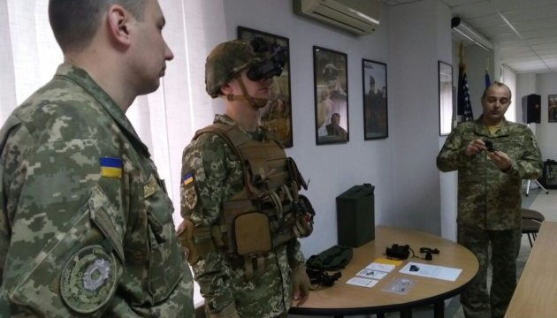 US donates 2,500 night vision monoculars to Ukraine. Photos