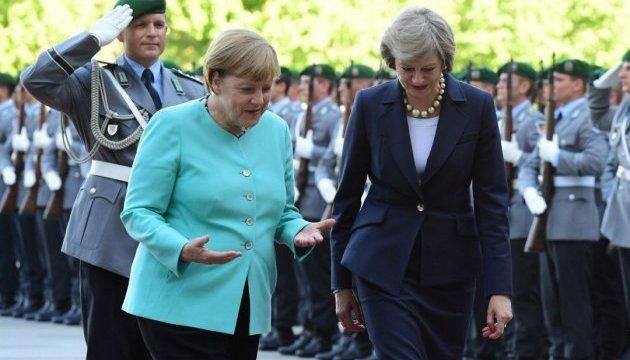 Меркель запитає у Мей про концепцію відносин Британії з ЄС