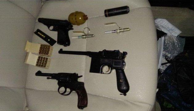 В Киеве задержан торговец оружием и боеприпасами