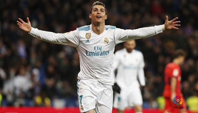 Очередной рекорд Роналду: 100 голов в Лиге чемпионов за один клуб