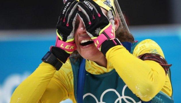 Jeux Olympiques : Hanna Öberg gagne l'épreuve de biathlon féminin, jour sans pour les ukrainiennes