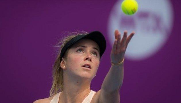 Світоліна програла Квітовій на тенісному турнірі в Досі