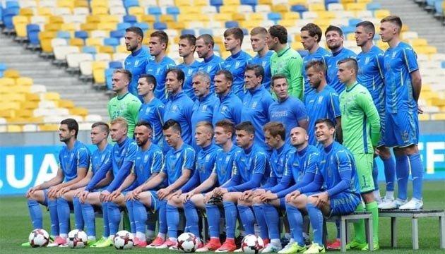 Футбольная сборная Украины сохранила 35 место в обновленном рейтинге ФИФА
